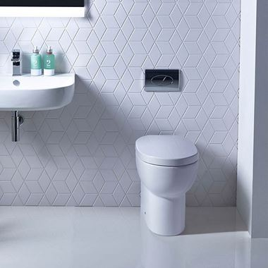 Roper Rhodes Zest Back to Wall Toilet & Soft Close Seat - 500mm Projection